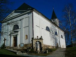 kostel újezd