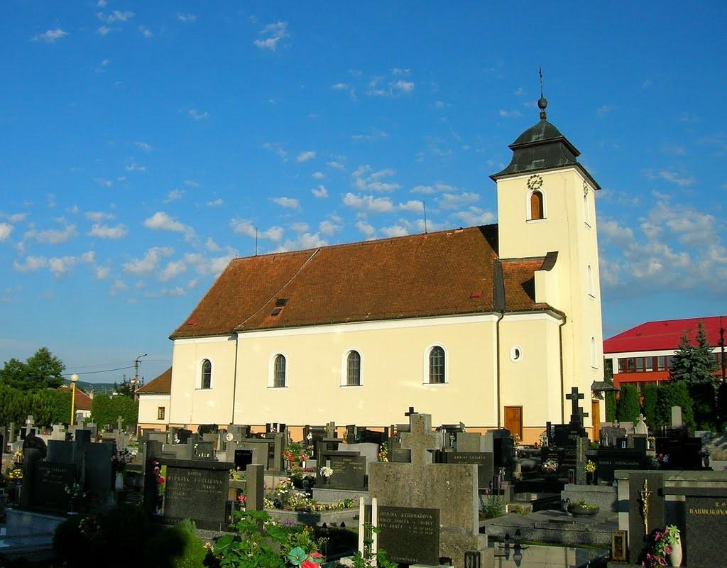 kostel štítná