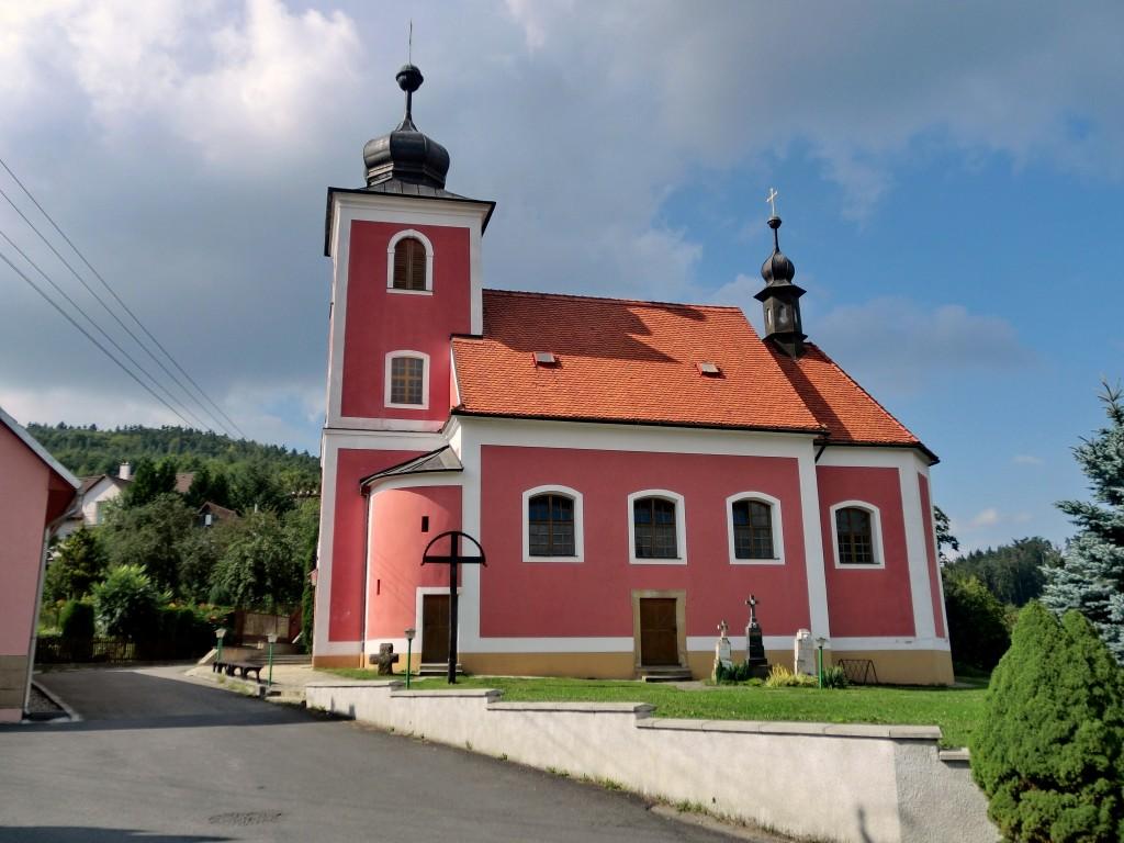 kostel horní lhota