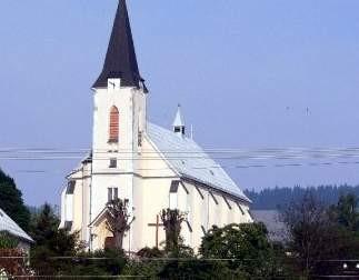 kostel nedašov