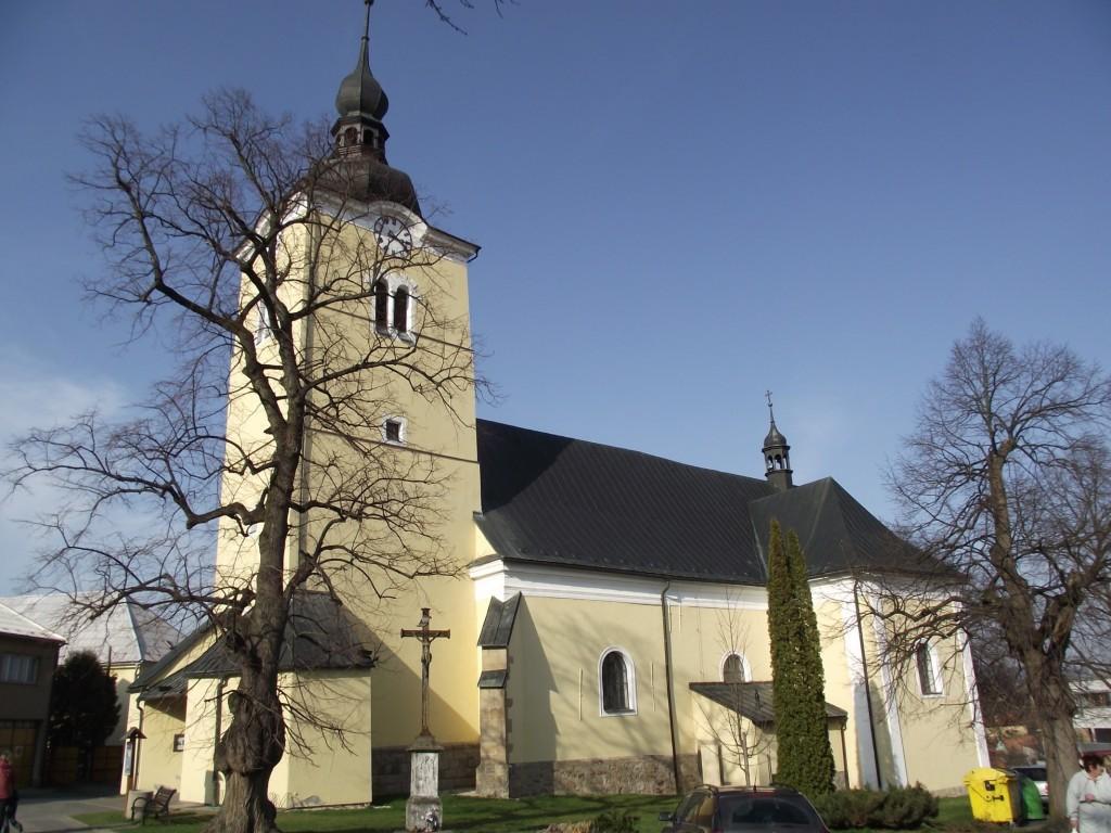 kostel valašské klobouky