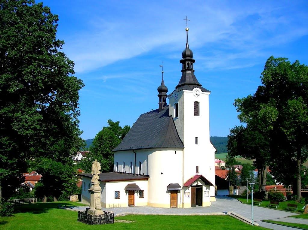 kostel vlachovice